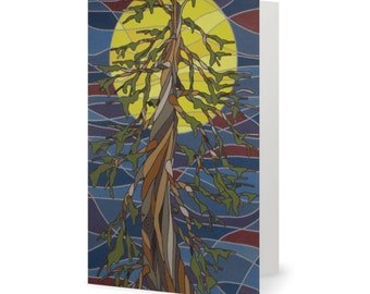 Reflection on Life Greeting Card