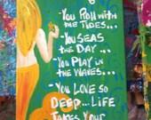 RhondaK Original Signs You're a Mermaid