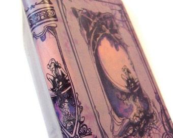 Midsummer Lavender book - Shakespeare leather blank book