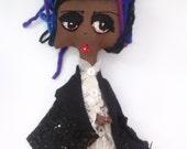 Nebo doll cemetery spirit Loa Ghede by Kook Teflon