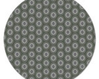 Art Gallery Fabrics   Oval Elements  in Smoke 1/2 yd. increments