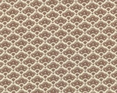 SALE - Honeysweet - Cobblestones in Hazel Brown: sku 20216-17 cotton quilting fabric by Fig Tree and Co. for Moda Fabrics - 1 yard