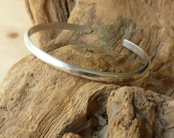 Hammered Cuff - Sterling Silver