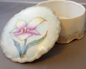 Porcelain Lily Box