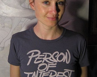 Person Of Interest Women's Grey T-shirt by Shawn Wolfe