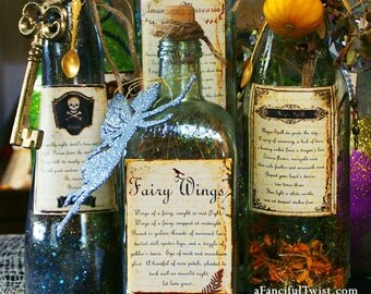 Spell and Potion Magic - 6 Apothecary labels