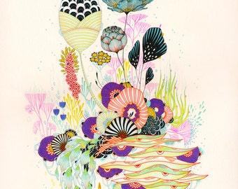 Fine Art Print - Treat - Print