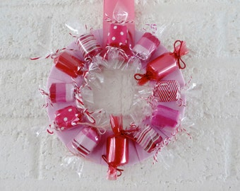Faux Candy Wreath