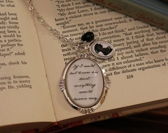 Sense and Sensibility If I Could But Know His Heart Prose Necklace