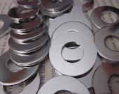 10 TUMBLED Aluminum 1.25 Inch Washers