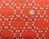 Marisa and Creative Thursday, Meet the Gang, Birds Red Fabric - Half Yard