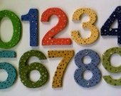 Custom made house numbers made to order