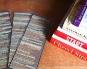 Literally Literary Bookmarks - Fun & Funky Book Quotes for Inspiration - Digital File - Upload and Print - DIY