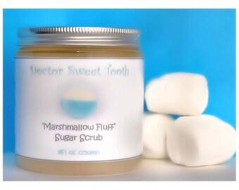Marshmallow Fluff Sugar Scrub (Paraben Free)