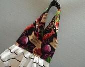 Hanging Dish Towel Jambalaya Fabric