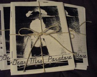 Dear Mrs. Paratore Nostalgia Zine Mini-Snack Pack (3 pcs)