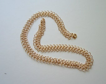 Gold Tone Necklace with gift box