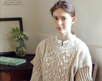 Hand Knit Story Vol 5 - Japanese Craft Book