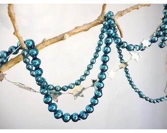 Mercury Glass Garland - small beads