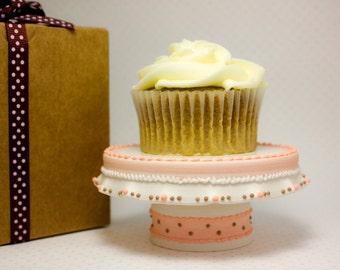 Pink Cupcake Stand, Frou Frou