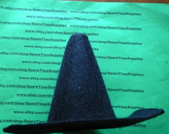 "Darice - 12774 -  felt witch hat - black - 5 3/4""  - 1 pc"
