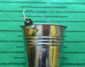 Darice - 6546 - galvanized metal pail with handle - 1 pc