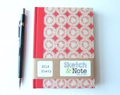 2014 Diary with Dandeliontree Paper Covers