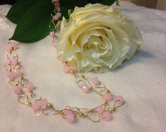 Carmela in Pink Necklace