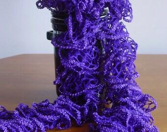 Ruffled Scarf Knitted Fashion Scarf