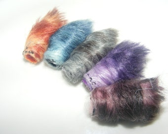 Fiber Bead Set Troll hair you say. Ok, as long as there's no ugly face to go with it.
