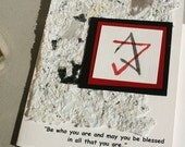 Bar  Mitzvah Card or Invitations with Star of David and Quote