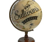 Custom Travels Pushpin Globe