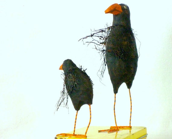 Raven's Dinner - California Carved - Wash Those Hands THEN You May Have Your Roadkill - Free USA Shipping