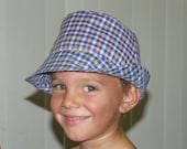 Fedora Style sewing hat pattern easy to sew PDF pattern oval brim Not A  bucket hat  CHILDS SIZE