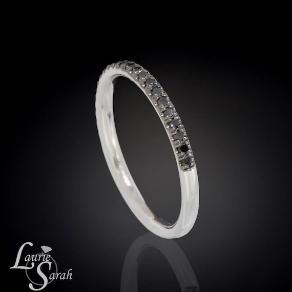 Black Diamond Wedding Band Black Diamond Wedding Ring