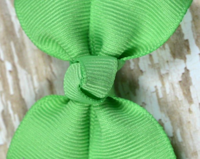 Mint Hair Bow 2.5 Inch Pinwheel Boutique Bow for Babies Toddlers Girls Hair Bows