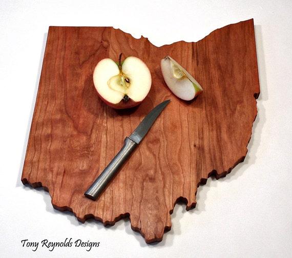 ohio state shaped cutting board. Black Bedroom Furniture Sets. Home Design Ideas