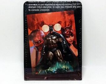 Sewn Comic Book Wallet - Batman, Catwoman, Two Face