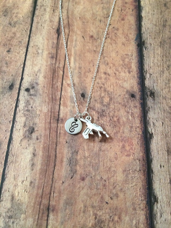 Glue gun initial necklace glue gun jewelry gift for for What kind of glue to use for jewelry