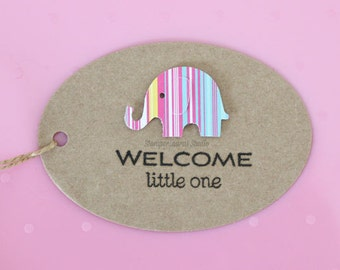 Welcome Little One Rubber Stamp