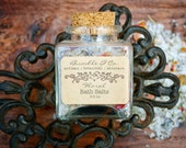 Floral Bath Salts/Bathing Salts | Handcrafted | All-Natural Dead Sea Salt + Botanicals | Softening, Relaxing + Detoxifying | 3.5 oz