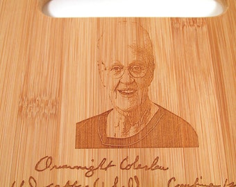 Add a Photo to your Bamboo Cutting Board