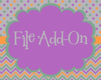 Add On - Cupcake Toppers