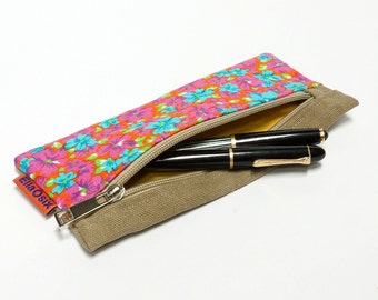 Vintage Fabric Pencil case