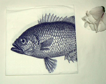 2  images Napkins from fish