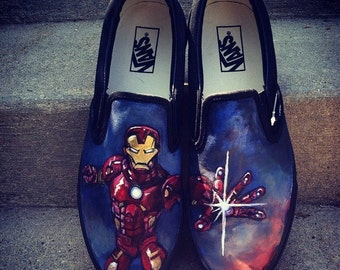 Custom Handpainted Shoes