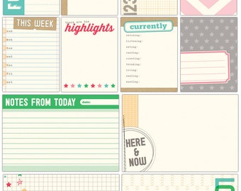 Elle's Studio Everyday Moments Journaling Tags