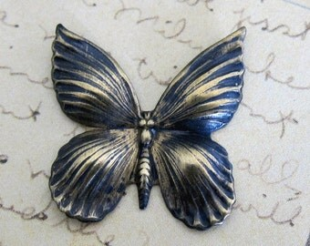 OOAK Brass Butterfly Finding 3215F