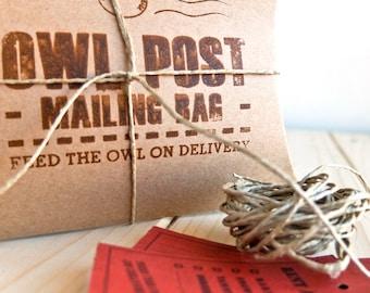Owl Post Mailing Box