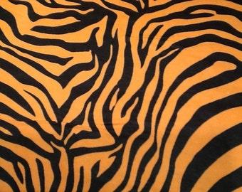 Last pair ORANGE ZEBRA flannel lounge pants/pajama pants children's size 0-3 to size 7